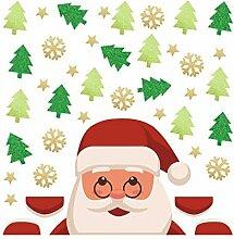 Wandaufkleber, Weihnachtsaufkleber, Wandaufkleber