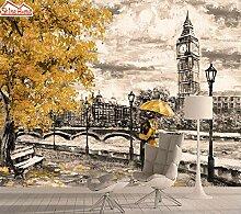 Wandaufkleber Wohnzimmer Tapete Big Ben 3D Foto
