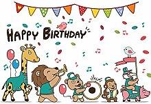 Wandaufkleber ZOZOSO Cartoon Zoo Wandaufkleber