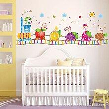 Wandaufkleber ZOZOSO Home Diy Dekorative Farbe