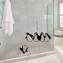 Wandaufkleber ZOZOSO Kinderzimmer Cartoon Pinguin