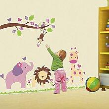 Wandaufkleber ZOZOSO Kinderzimmer Dekoration