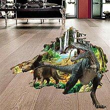 Wandaufkleber ZOZOSO Wandaufkleber 3D Dinosaurier