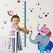 Wandaufkleber ZOZOSO Wandaufkleber Cartoon Elefant