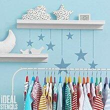 Wandbehang Sterne Kinderzimmer Schablone Heim Wand