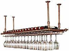 Wandbehang Weinflaschenhalter Metall Weinglas Rack