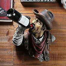 Wandbehang Weinregal,amerikanische kreative Bar