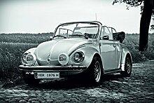 Wandbild 1200 x 690mm VW KÄFER Fototapete Poster