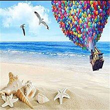 Wandbild, 3D, Ballon Foto Naturlandschaft