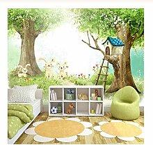 Wandbild 3D Fototapete Für Kinder Cartoon Nette