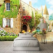 Wandbild 3D Fototapete für Wohnzimmer Sofa