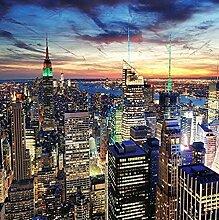 Wandbild 3D-Fototapete Wandbild Stadtgebäude