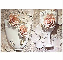 Wandbild 3D Rose Wandbild Tapete Für Sofa