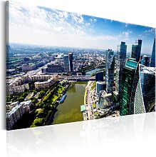 Wandbild - Aerial view of Moscow