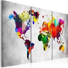 Wandbild - Artistic World - Triptych
