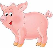 Wandbild Aufkleber No. 53Little Pig, Wandtattoo,