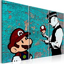 Wandbild - Banksy: Cracked Paint