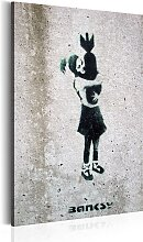 Wandbild - Bomb Hugger by Banksy