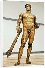 Wandbild Bronze Statue of Hercules von Corbis