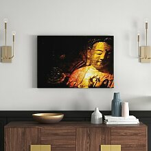 Wandbild Buddha East Urban Home