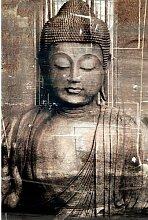 Wandbild Buddha World Menagerie