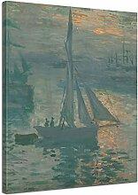 Wandbild Claude Monet Sonnenaufgang (Marine) -