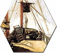 Wandbild Édouard Manet Schiffsdeck - 60 cm