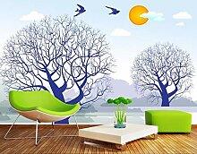 Wandbild Hintergrundbild Baum Abstraktion Tapeten