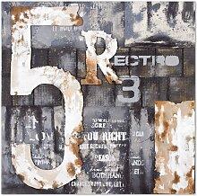 Wandbild II, 100x100 cm