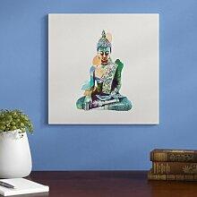 Wandbild Jade Buddha East Urban Home Farbe der