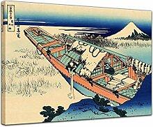 Wandbild Katsushika Hokusai Ushibori in der