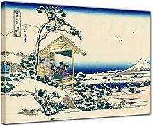 Wandbild Katsushika Hokusai Verschneiter Morgen