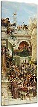 Wandbild Lawrence Alma-Tadema Frühling - 30x90cm