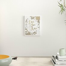 Wandbild Love You More East Urban Home Format: