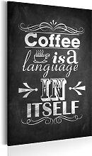 Wandbild - Mit Liebe zum Kaffee