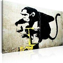 Wandbild - Monkey Detonator by Banksy