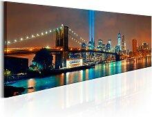 Wandbild - New York City: Beautiful Night