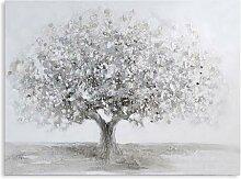 Wandbild, Ölbild BIG TREE Großer Baum 70x90cm