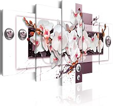 Wandbild - Orchid's Mechanism