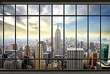 Wandbild Panorama HEAD OFFICE 4x2,70 m Deko und