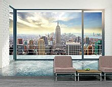 Wandbild Panorama NEW YORK AT HOME 4x2,70 m Deko