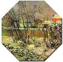 Wandbild Paul Gauguin Schnee in der Rue Carcel -