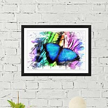 Wandbild Schmetterling ModernMoments Größe: 45