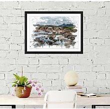 Wandbild Schottische Landschaft ModernMoments