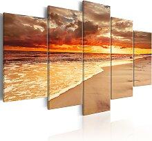 Wandbild - Sea: Beautiful Sunset