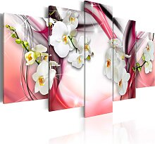 Wandbild - Sinnliche Melodie (rosa)