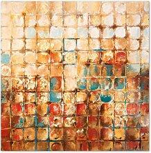 Wandbild Squares, 100x100 cm