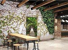 Wandbild Tapete 3D Pastorale Stil Pflanze Tapete