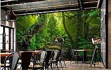 Wandbild Tapete 3D Waldlandschaft Tapete Natur
