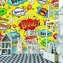 Wandbild tapete Cartoon-KunstDeko familie